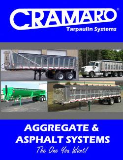 Cramaro Aggregate & Asphalt Truck Tarp Systems