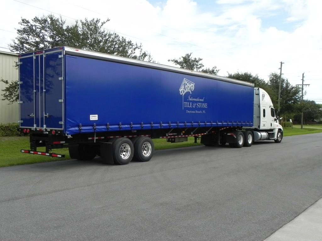 Tarp All Truck Trailer Truck Tarp systems by Cramaro Tarps