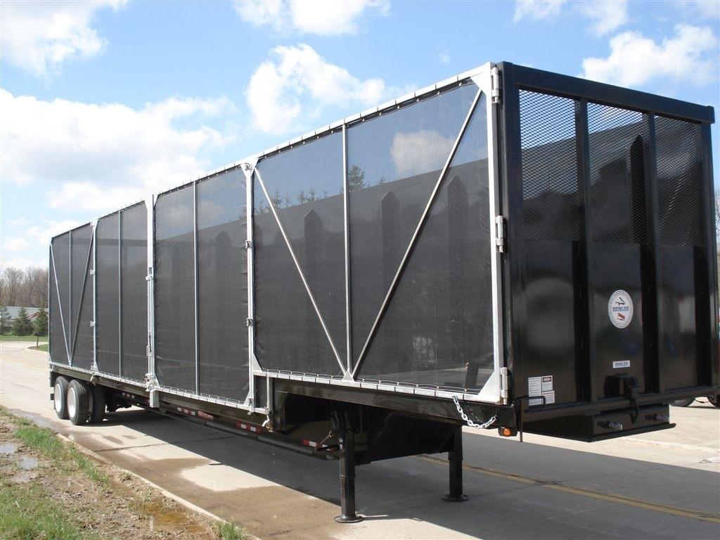 Crushed Car Truck Trailer Truck Tarp systems by Cramaro Tarps