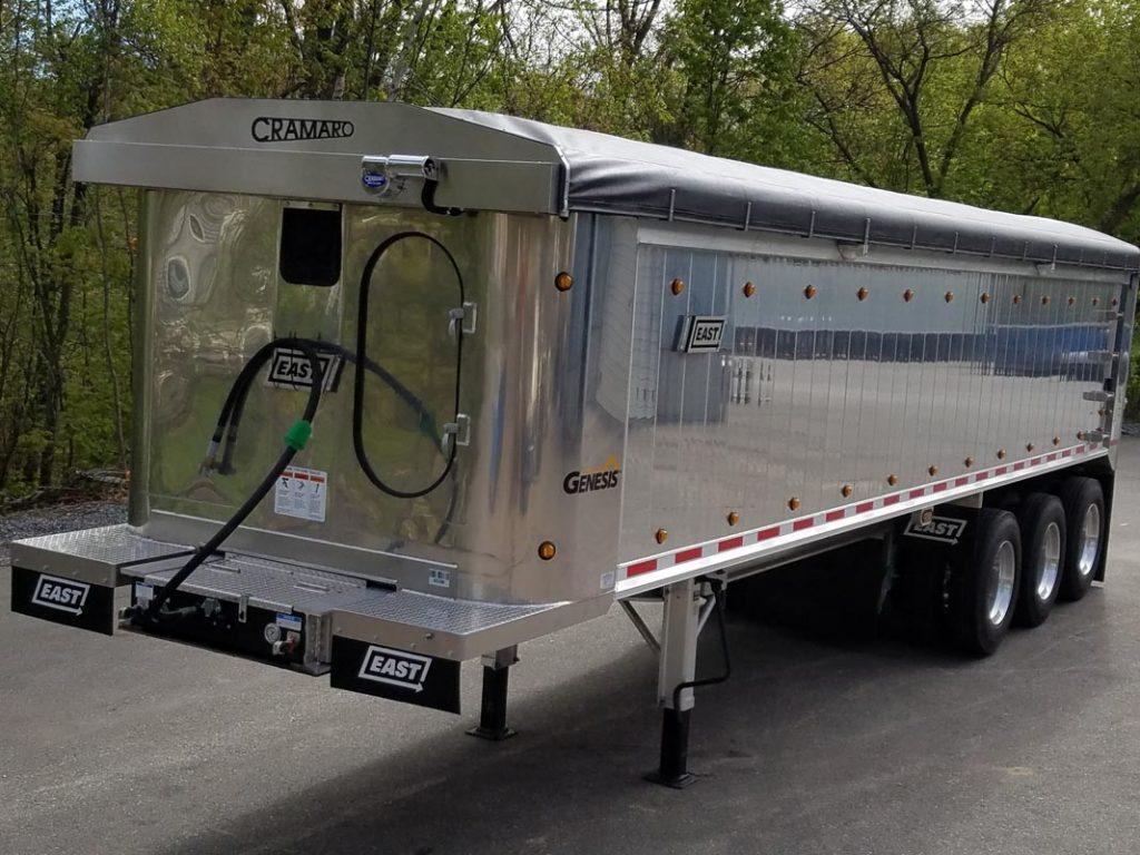 mentor Truck Trailer Truck Tarp systems by Cramaro Tarps