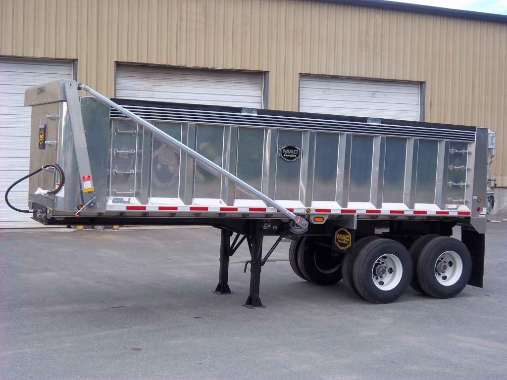Dump Truck Trailer Truck Tarp systems by Cramaro Tarps
