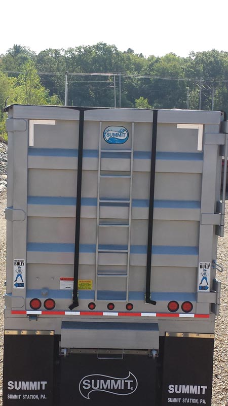 Side Roll Truck Trailer Truck Tarp systems by Cramaro Tarps