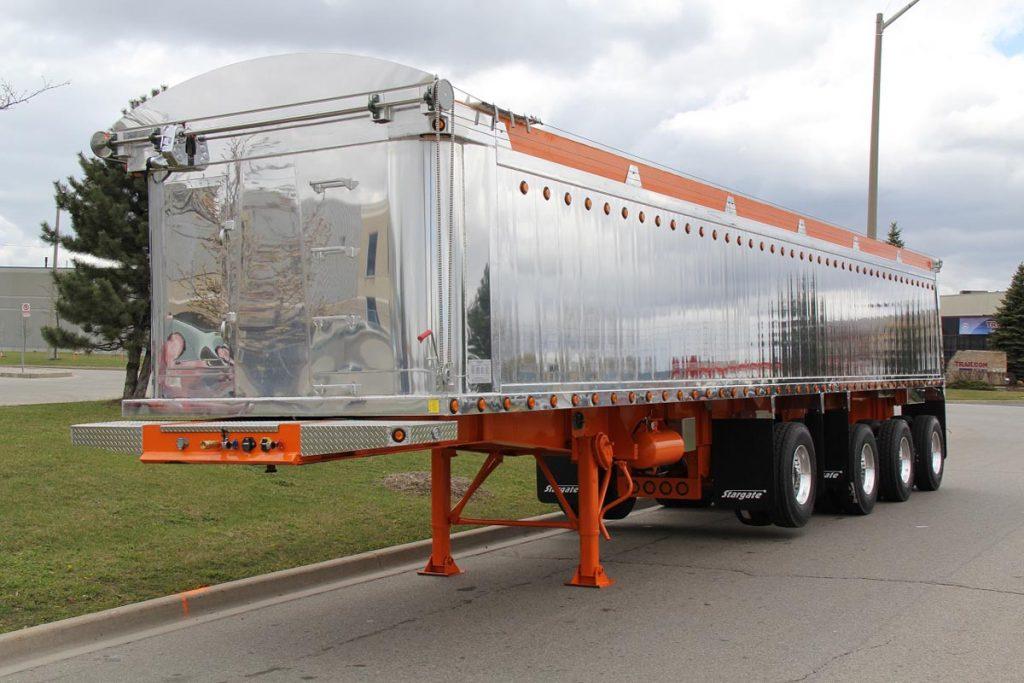 Slide N Go Truck Trailer Truck Tarp systems by Cramaro Tarps