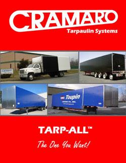 Cramaro Tarps Panel Tarp All Flatbed Truck & Trailer Tarp System Brochure Cover