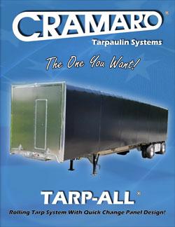 Cramaro Tarps Tarp All Flatbed Truck & Trailer Tarp System Brochure Cover